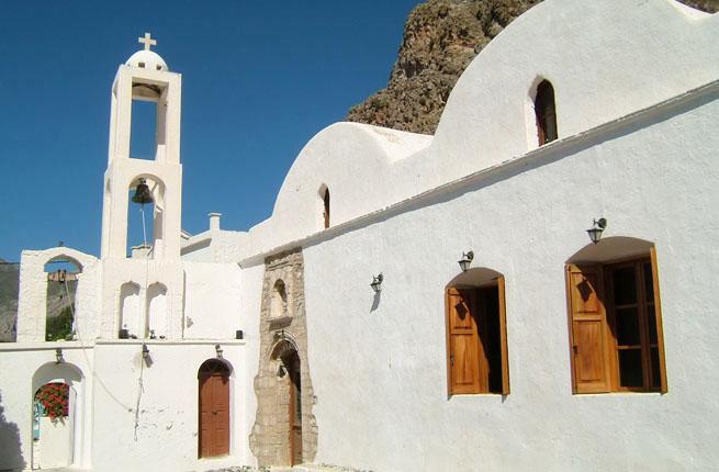 Дом в деревне остров Тилос