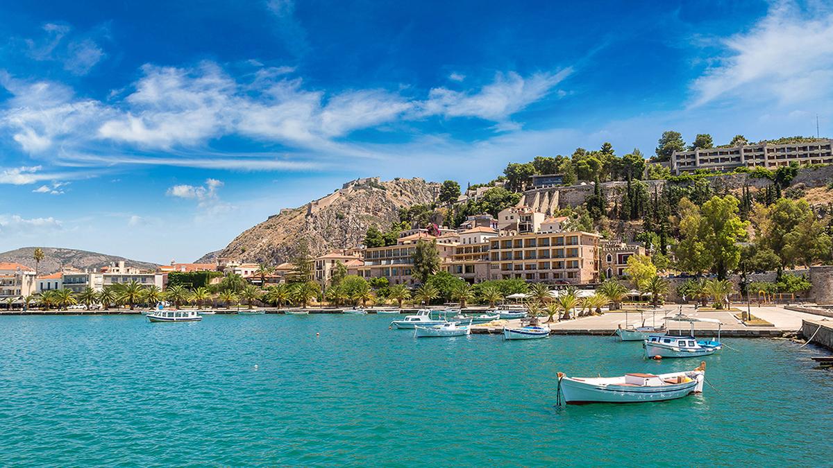 курорты пелопоннеса греция